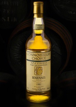 Product photograph for Speyside Whisky, 1991 single malt scotch whisky.